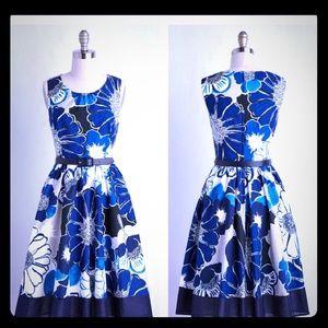 EUC MODCLOTH FLORAL DRESS